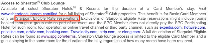 sheraton club